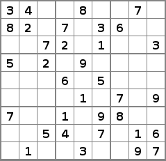 sudoku solver julien michot
